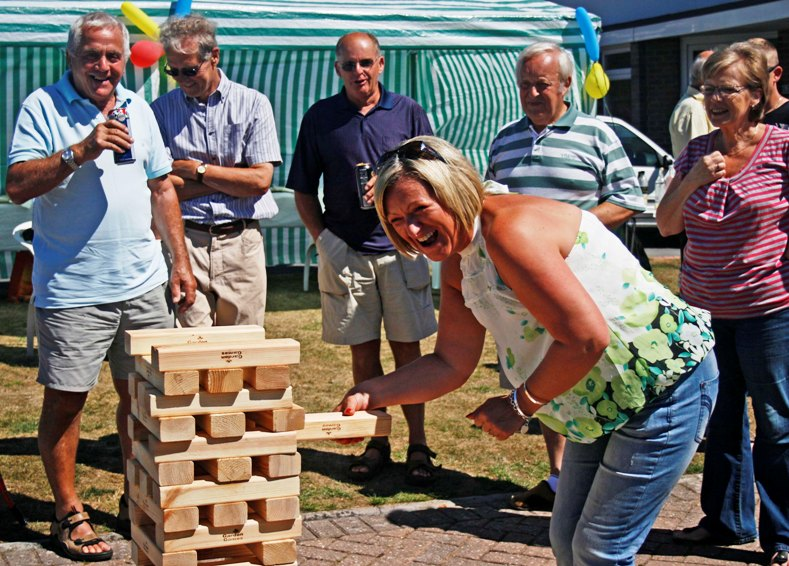 Jenga at Poole Big Lunch