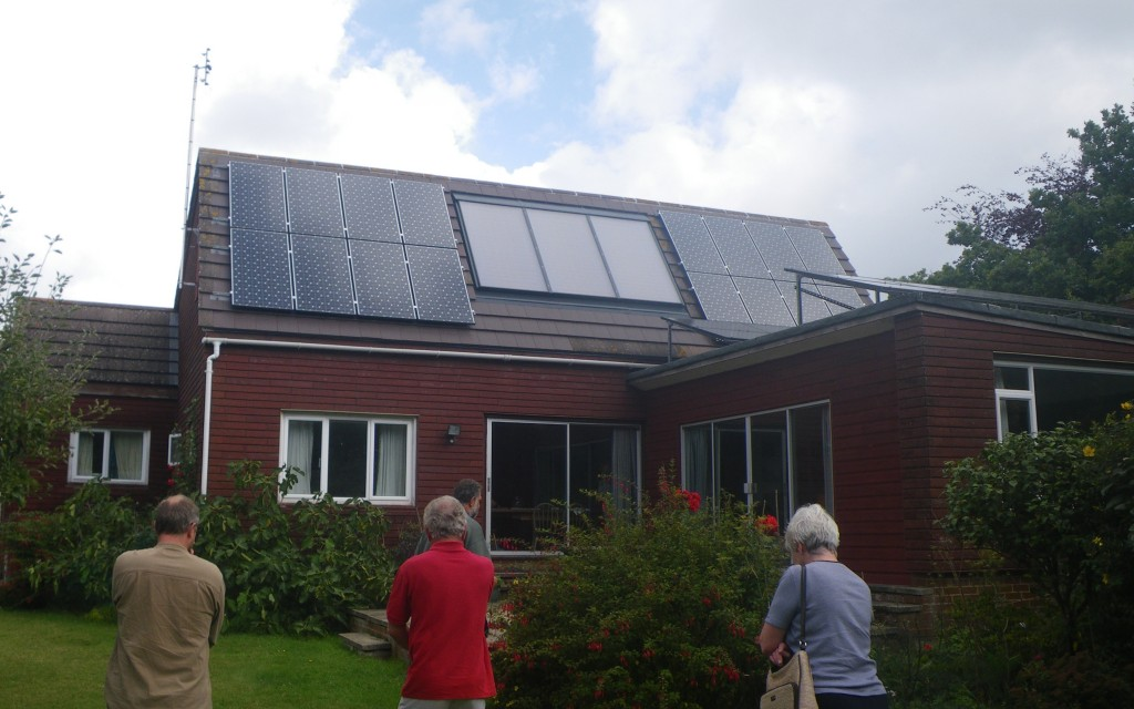 Woodcutters Solar PV and Thermal