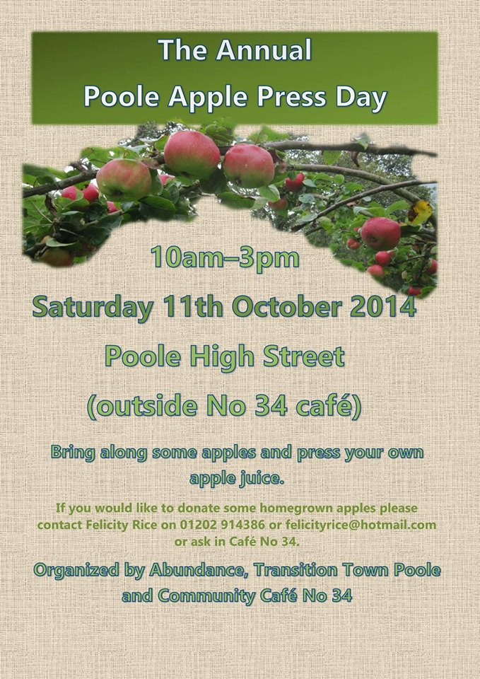 Apple Day Poster 13 Oct 2014